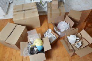 بسته بندی وسایل در اثاث کشی